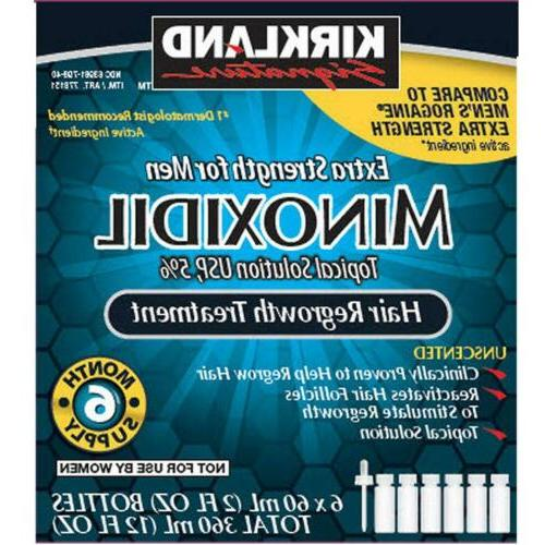 minoxidil extra strength hair regrowth