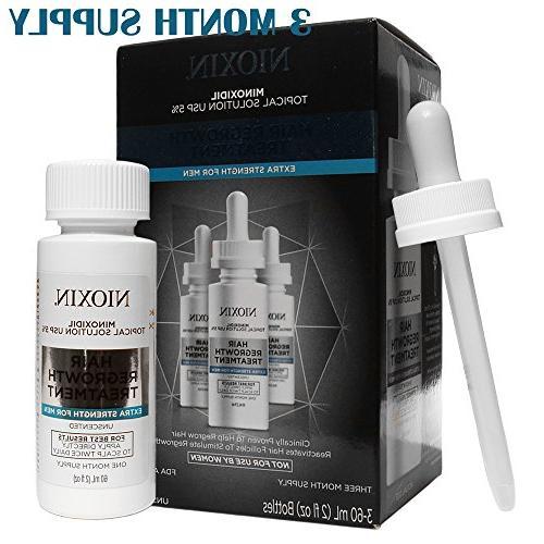 Nioxin Minoxidil 5% Regrowth Extra for Men Day Set