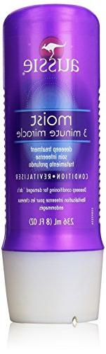 Aussie Moist 3 Minute Miracle Deep Treatment, 8 Ounce