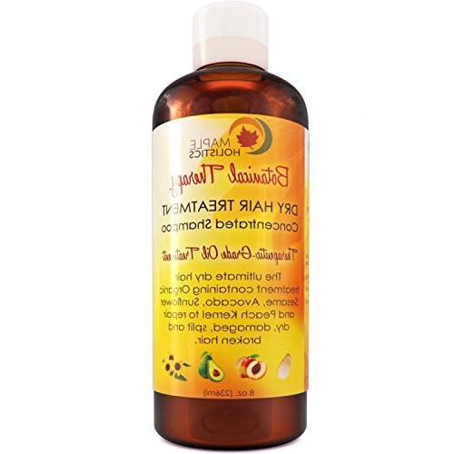 Moisturizing for Damaged Hair - Frizz Deep Conditioning + Repair Hair Dry Hair Treatment Silky Sexy Therapeutic Organic Sesame Oil & Keratin