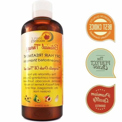 moisturizing dry damaged hair