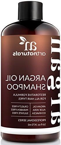moroccan argan oil shampoo 12 fl oz