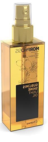 Framesi Morphosis Sublimis Shine Light Oil, 4.2 Ounce