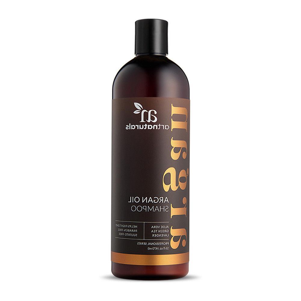 Natural Argan Shampoo & Condtioner Collection - Sulfate oz