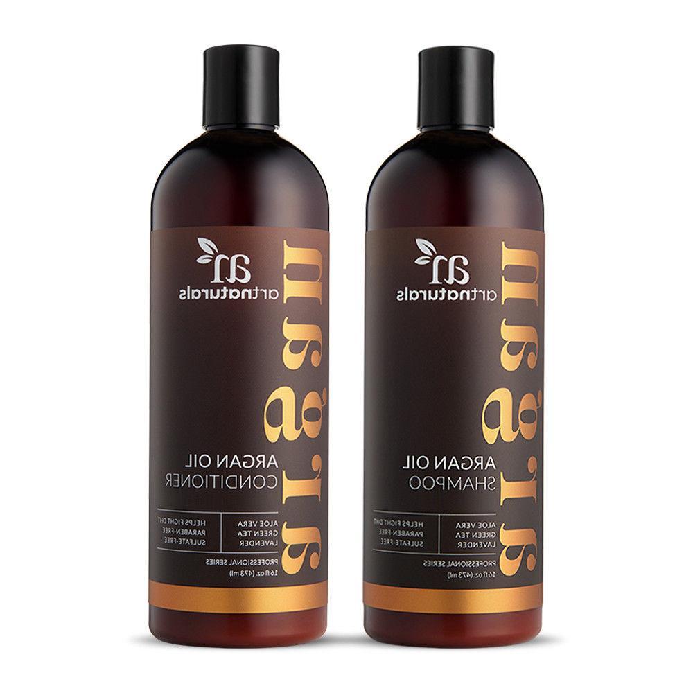 natural argan oil shampoo and condtioner treatment