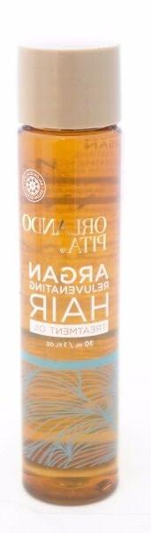 New Orlando Pita Argan Rejuvenating Hair Treatment Oil 1 fl