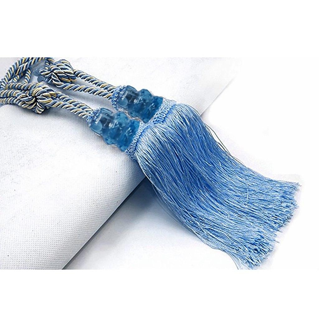 New Tiebacks Beaded Tieback Curtain Cord Textiles <font><b>Treatments</b></font>