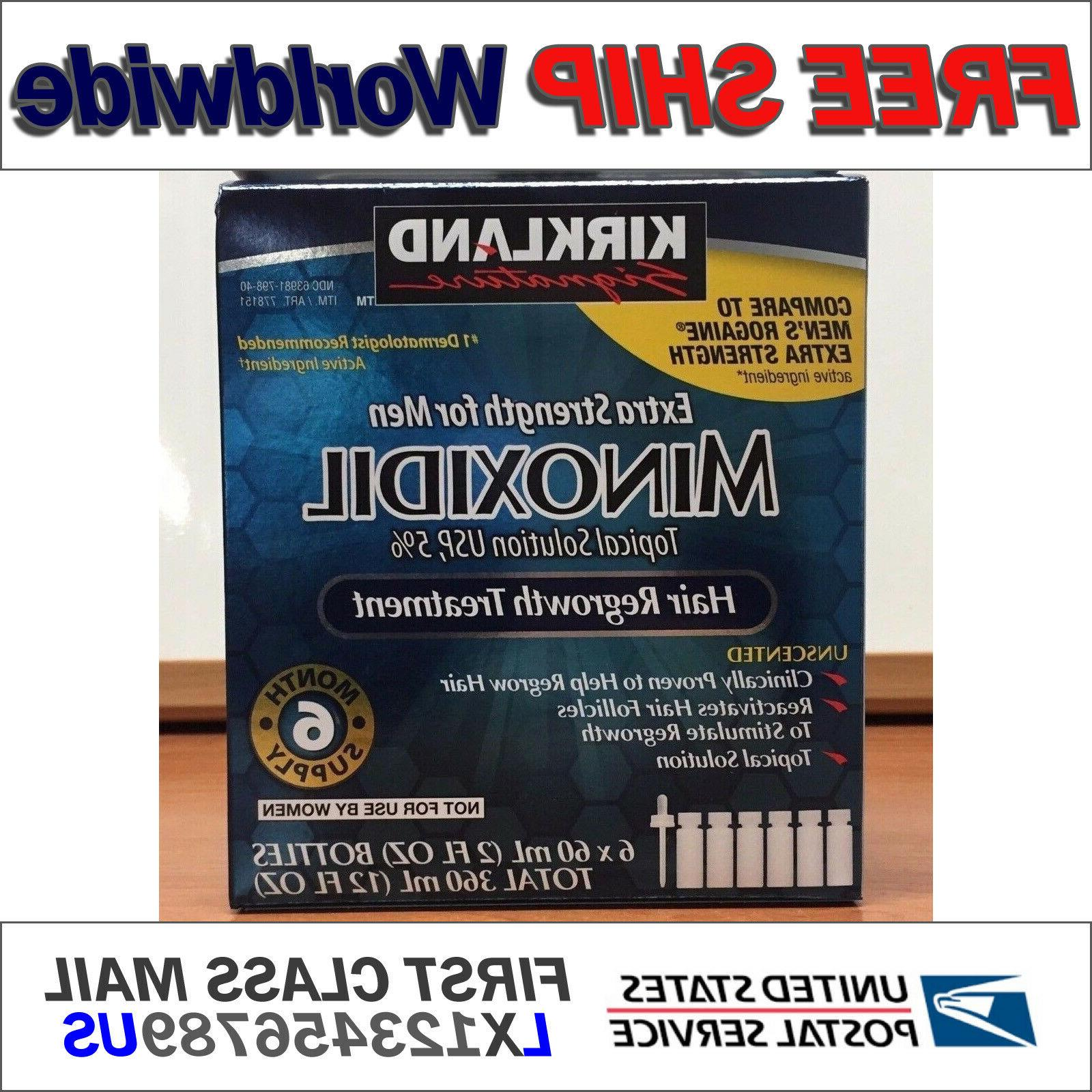 NOW EXP 05/2020 Kirkland Minoxidil 5% Extra Strength Men 6 M