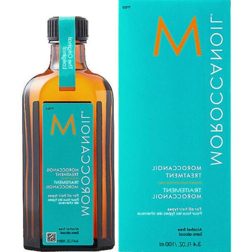 Moroccanoil Oil Hair Treatment Light 100ml 3.4oz All Hair Ty