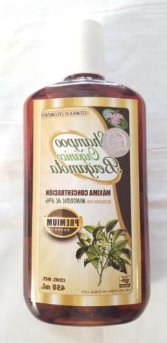 ORGANIC BERGAMOT SHAMPOO MINOXIDIL 6%, SHAMPOO DE BERGAMOTA