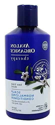 Avalon Organics Tea Tree Mint Scalp Nomalizing Conditioner,