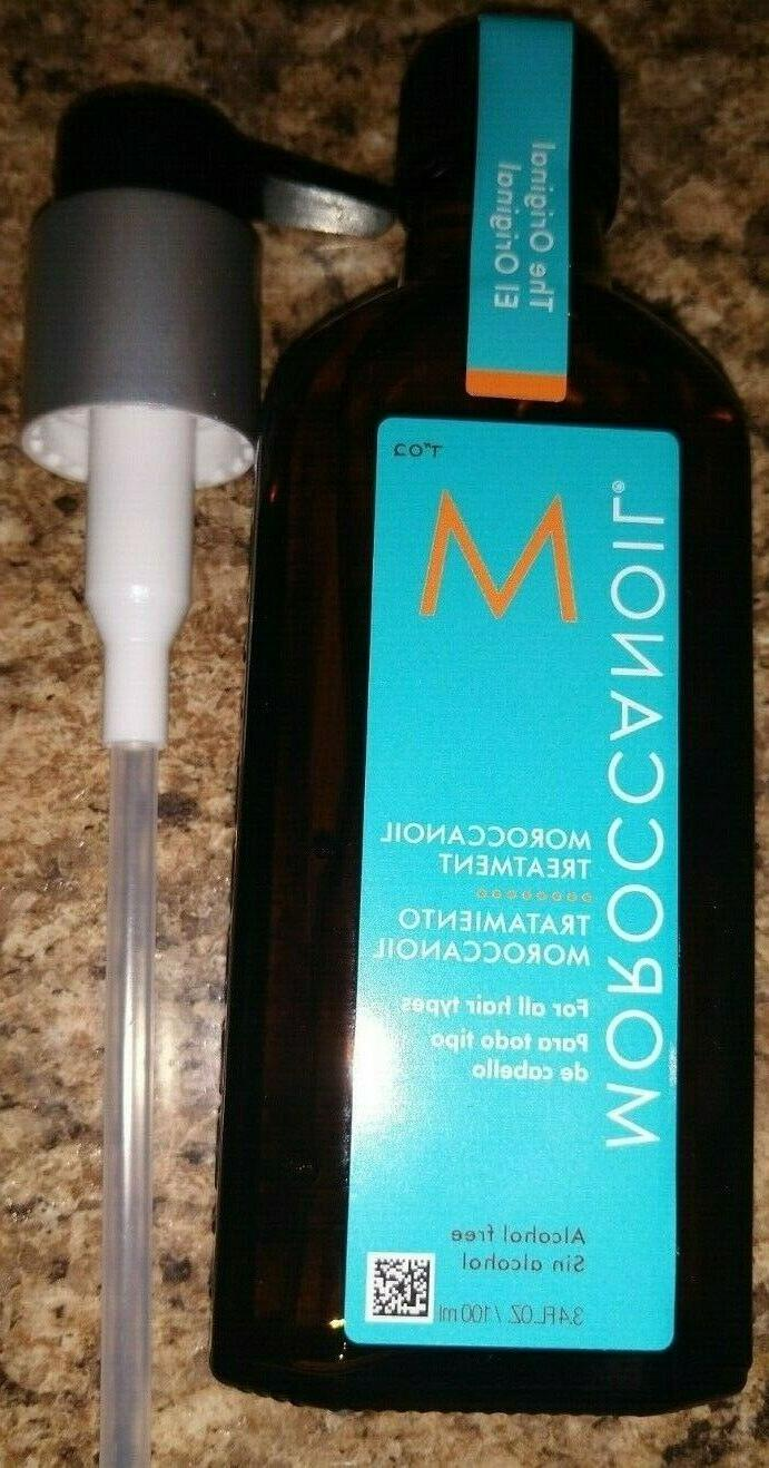 Moroccanoil Original Hair Oil 100ml + Pump SEE DOWN 4