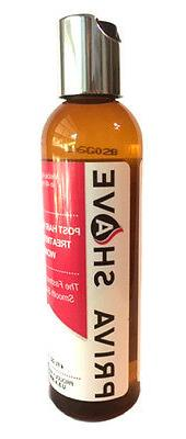 Priva Shave Post Treatment Gel for Ingrown Hairs/Shaving Ras