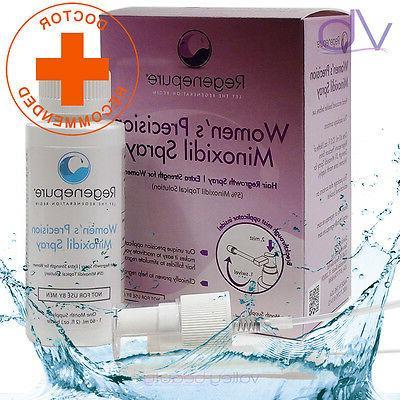 RegenePure Precision 5% Minoxidil Spray For Women, Doctor Re
