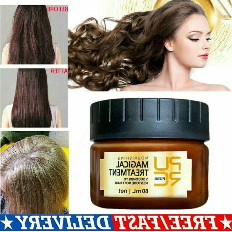 60ml Magical keratin Hair Treatment Mask 5 Seconds Repairs D