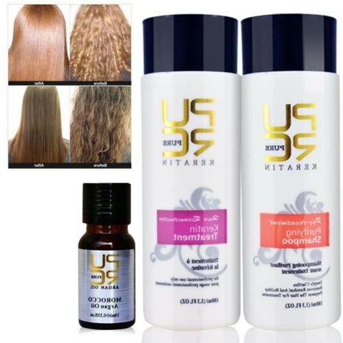 Pure Brazilian Dry Shampoo Straightening Treatment 100ml