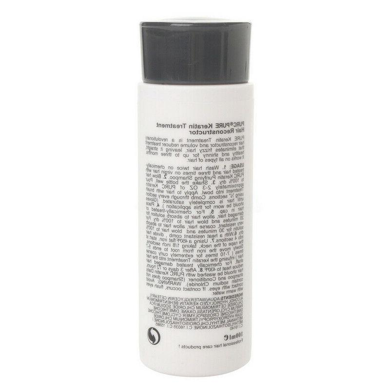 Pure Brazilian Keratin Straightening Blow Dry Shampoo