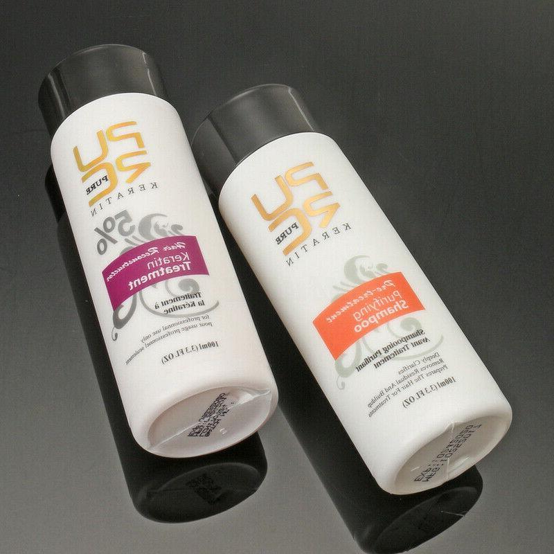 Pure Keratin Straightening Dry + Shampoo