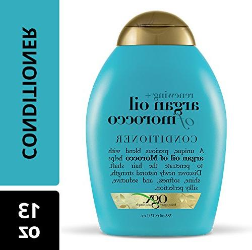 OGX Argan Oil of Conditioner, Ounce Paraben Free, Sulfate Ingredients, Strengthens, Softens, Smooths Adds Shine