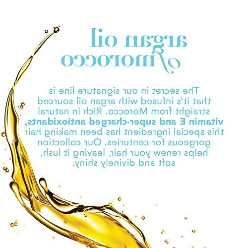 OGX Argan Oil of Conditioner, 13 Ounce Bottle, Free, Sulfate Sustainable Ingredients, Strengthens, and Adds