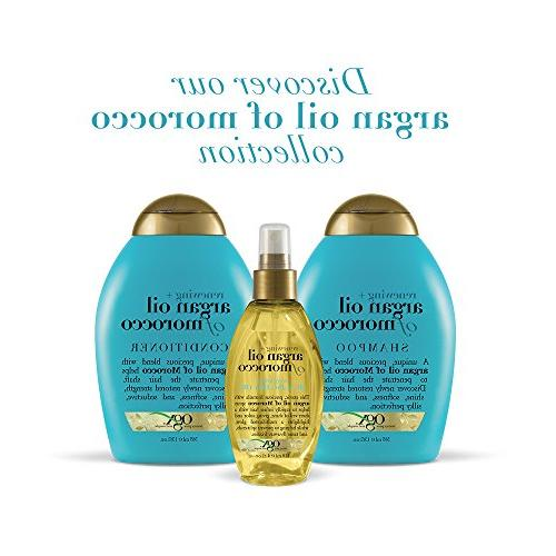 OGX Renewing Oil of Morocco 13 Ounce Paraben Adds Shine