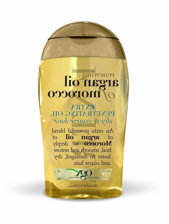 renewing moroccan argan oil extra strength penetrating
