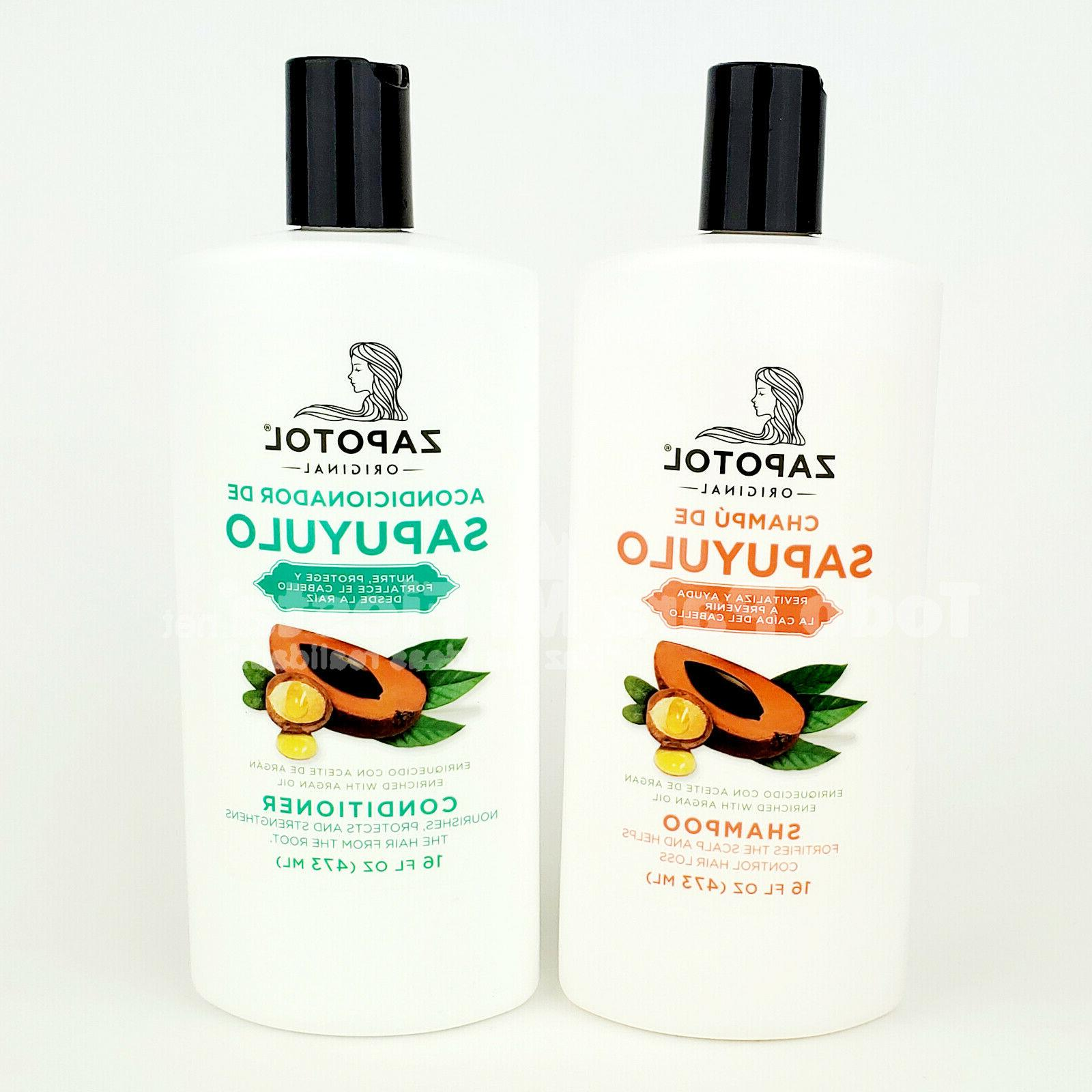 Zapotol Shampoo Conditioner Hair Loss Treatment Protection S