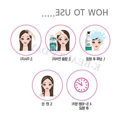 Solid Scalp Hair Control Hair Ampoule 8pcs / Protein Clinic