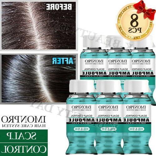 solid scalp hair control hair ampoule 8pcs