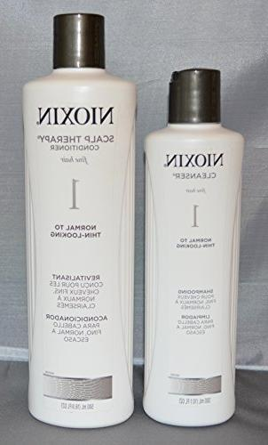 system cleanser scalp therapy conditioner