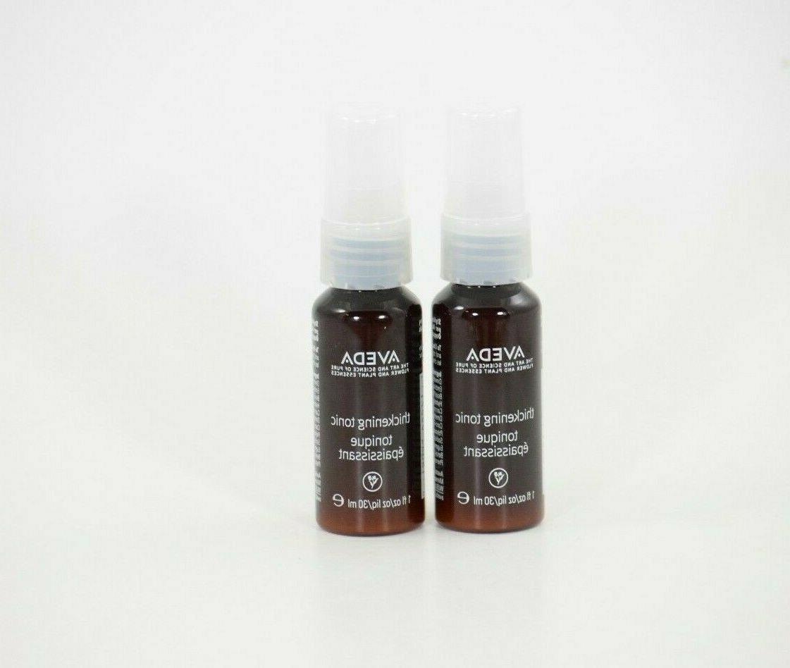 thickening tonic styling spray hair treatment
