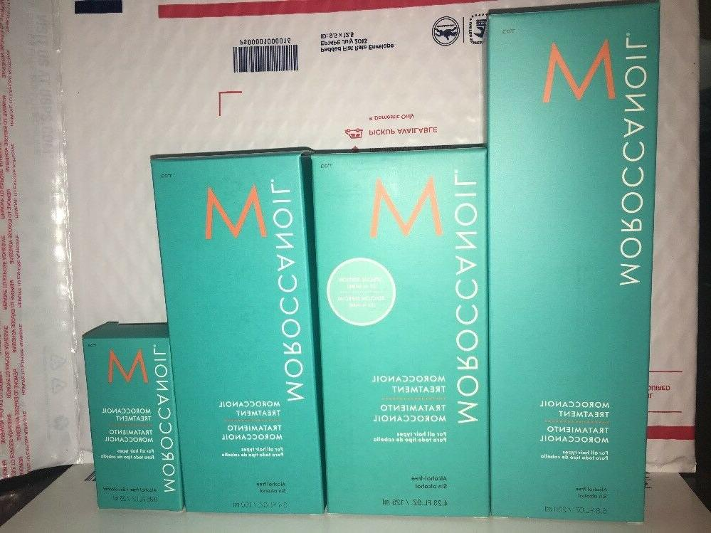 Moroccanoil Treatment Oil for All Hair Type NEW 0.34 oz 3.4