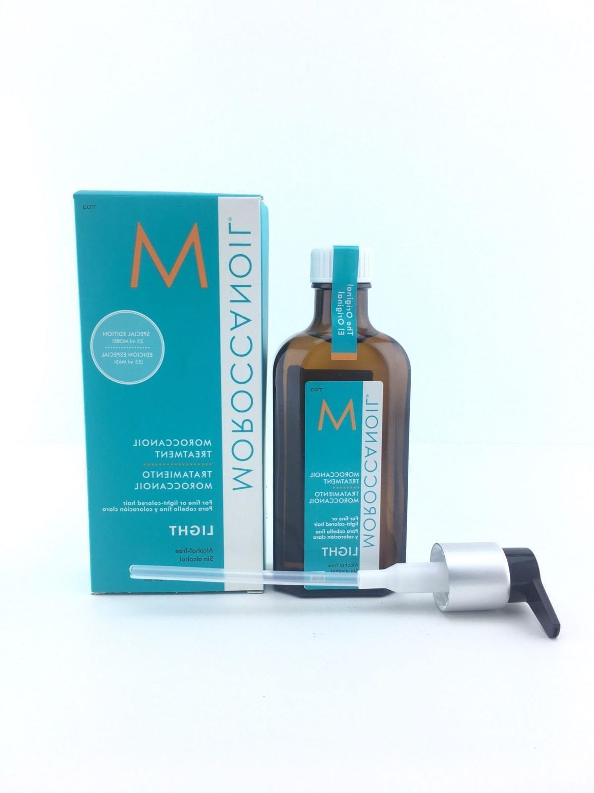 Moroccanoil Oil Light For Type In