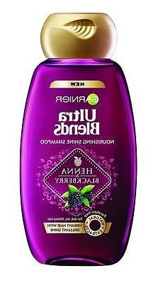 Garnier Ultra Blends Nourishing Shine Henna Blackberry Shamp