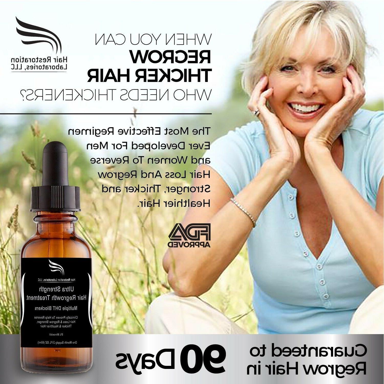 Strength Hair Regrowth Minoxidil Treatment