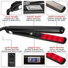 ultrasonic infrared hair care iron lcd display