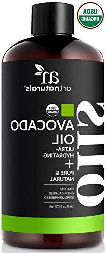 ArtNaturals USDA Organic Avocado Oil -  - Massage Oil & Mois