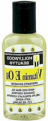 Hollywood Beauty Vitamin E Oil Hair & Skin Treatment, 2 oz