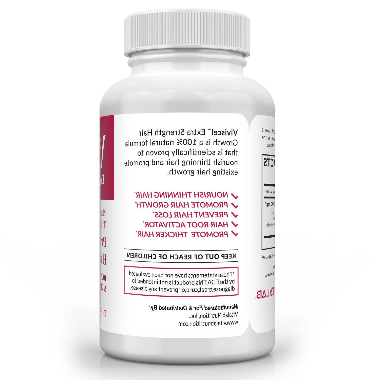 Viviscel Strength Growth Professional Hair Formula Pills