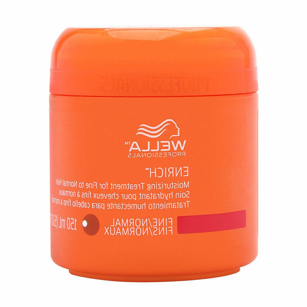 Wella Professional Enrich Moisturizing Treatment For Fine To