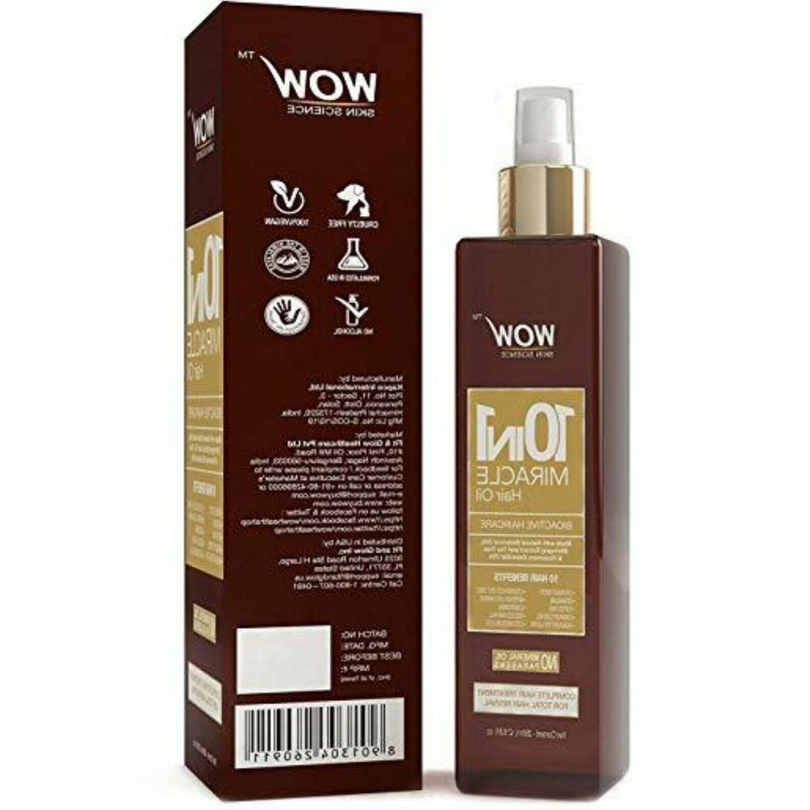 WOW Hair Growth Treatment With Almond For