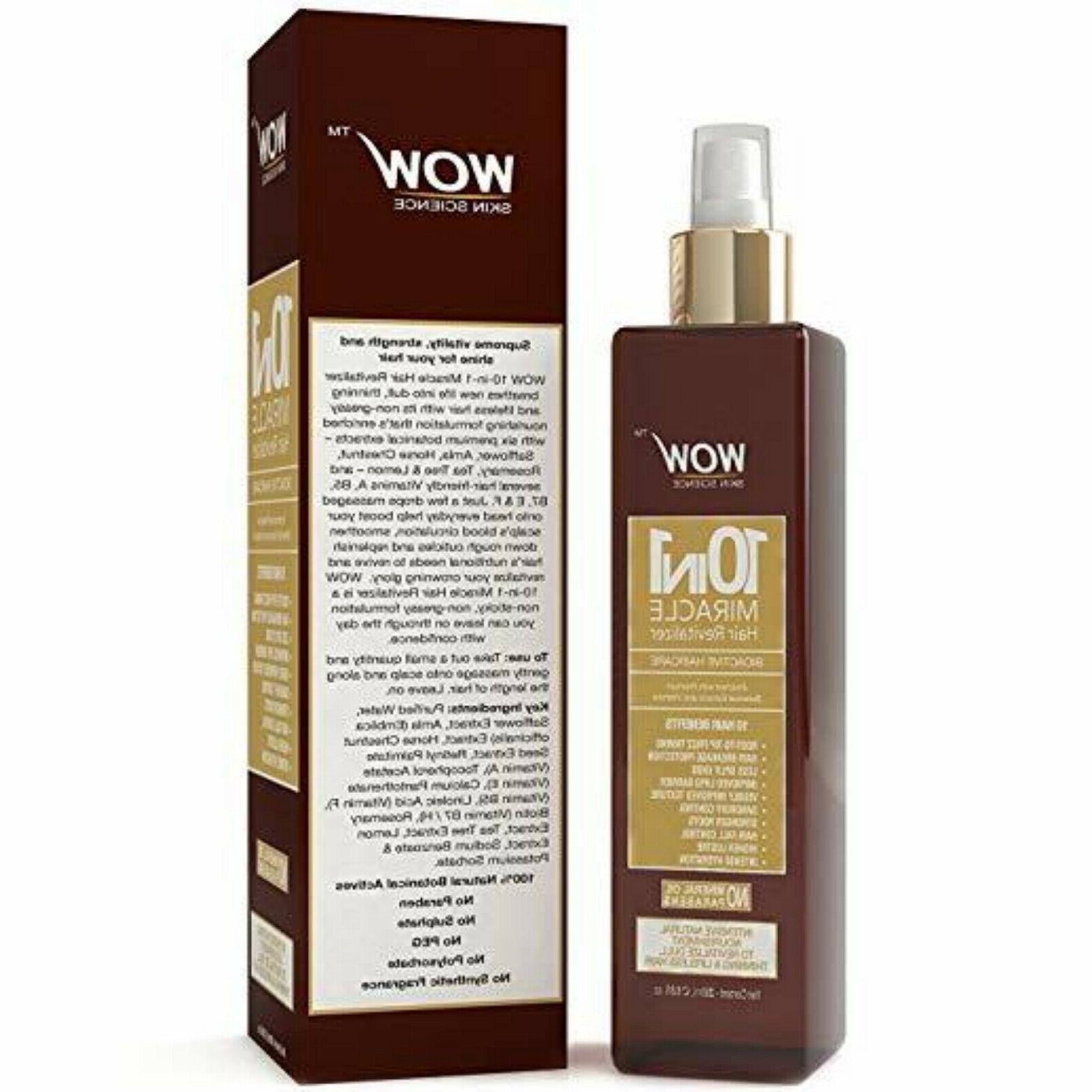 WOW Argan Growth - Almond & - For Men