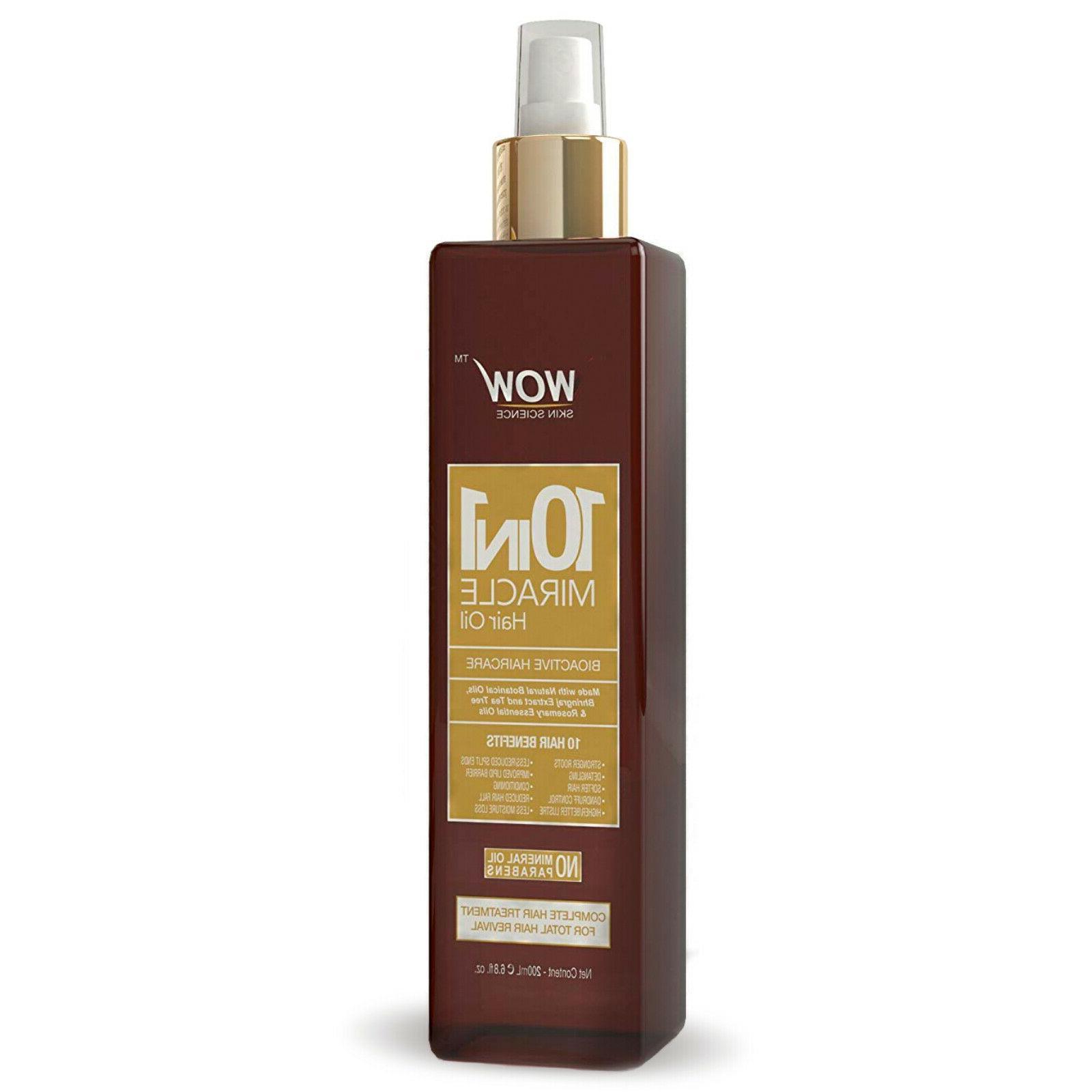 WOW Argan Oil Growth - With Almond Jojoba For