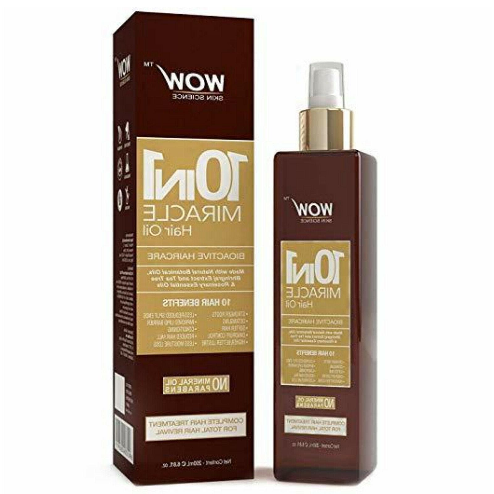 wow argan hair oil growth treatment