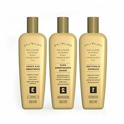 Calily Life Brazilian Keratin Hair Treatment Kit – 3 Step