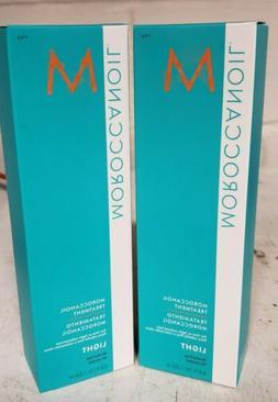 Lot of 2 Light Moroccanoil Hair Treatment 200 ml / 6.8 oz Mo