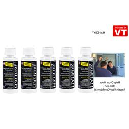 LOT OF 5 HAIR REGROW Men's Extra Strength Hair Treatment