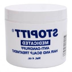Stopitt Medicated Anti-Dandruff Hair & Scalp Treatment, 4 oz
