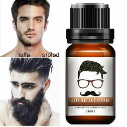 Men Beard Mustache Growth Oil Eyebrow Hair Growth Treatments