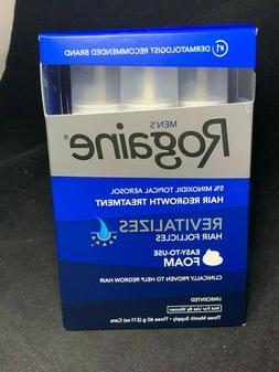 ROGAINE Men's Foam 5% Minoxidil Hair Regrowth Treatment - 2.
